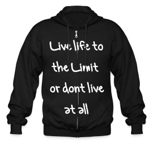 Live it - Men's Zip Hoodie