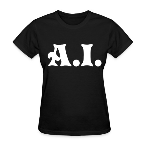 A.I. black womens shirt - Women's T-Shirt