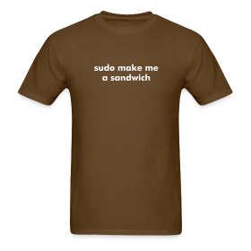 sudo make me a sandwich - Linux ~ 351