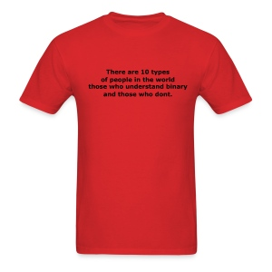 There are 10 types of people in the world.. - Men's T-Shirt