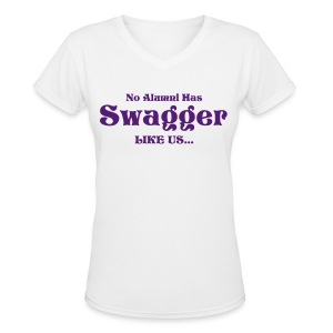 Swagger tee (no eagle) - Women's V-Neck T-Shirt