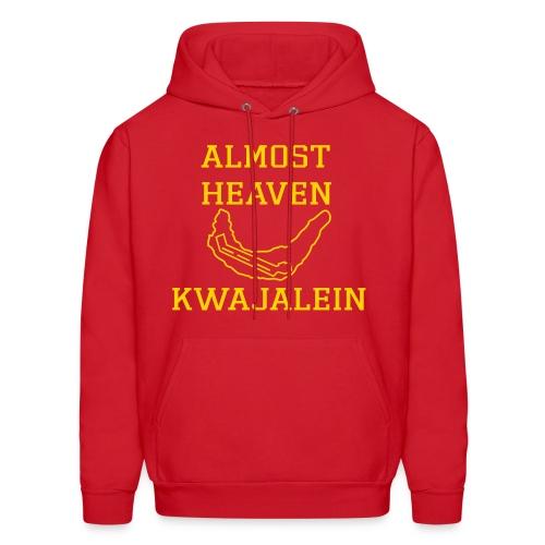 Almost Heaven Hoodie (hibiscus) - Men's Hoodie