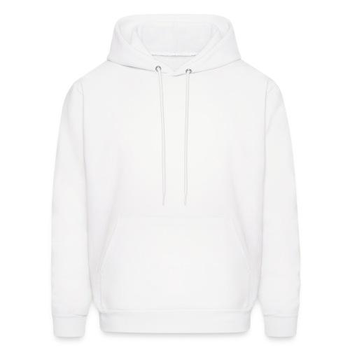 White Hooded Sweatshirt - Men's Hoodie