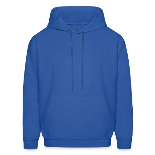 Blue Hooded Sweatshirt - Men's Hoodie