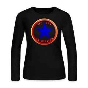 Blue Star Son - Women's Long Sleeve Jersey T-Shirt
