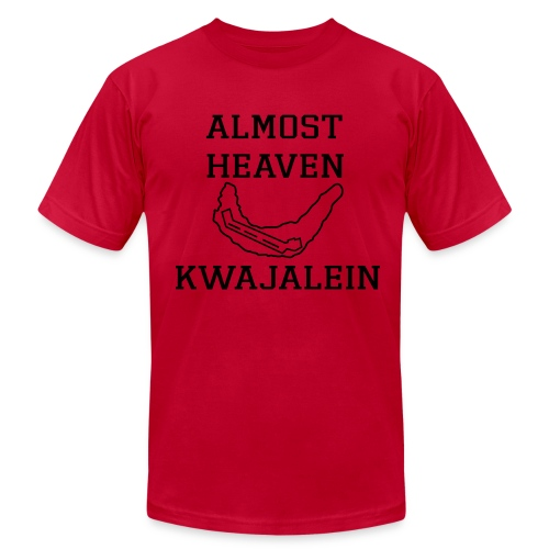 Almost Heaven Simple Tee - Men's Fine Jersey T-Shirt