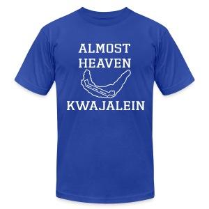 Almost Heaven Simple Tee - Men's Fine Jersey T-Shirt