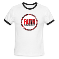 T-Shirts ~ Men's Ringer T-Shirt ~ Faith: Is there anything it can't do?