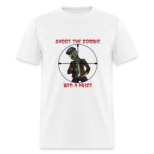 Shoot Zombie - Men's T-Shirt