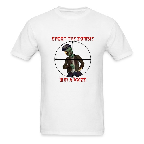 Shoot Zombie - Men's T-Shirt