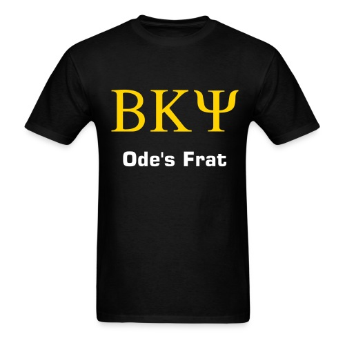 BKPsi shirt - Ode's Frat - Men's T-Shirt