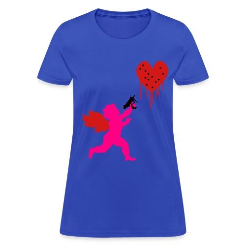 Cupid Uzi - Women's T-Shirt