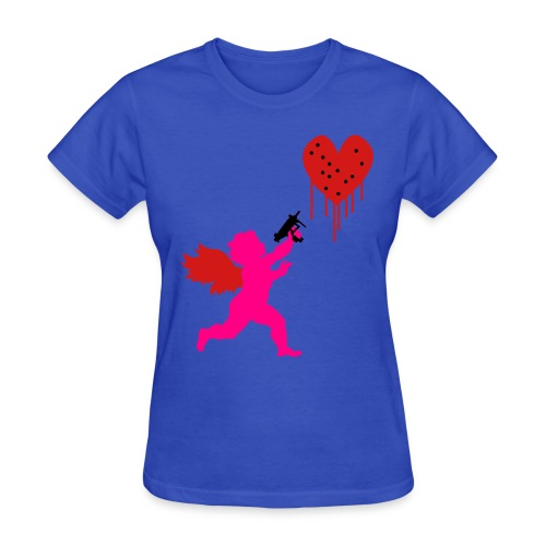 Cupid Uzi - Women's T-Shirt