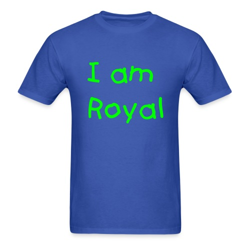 Royal Blue - Men's T-Shirt