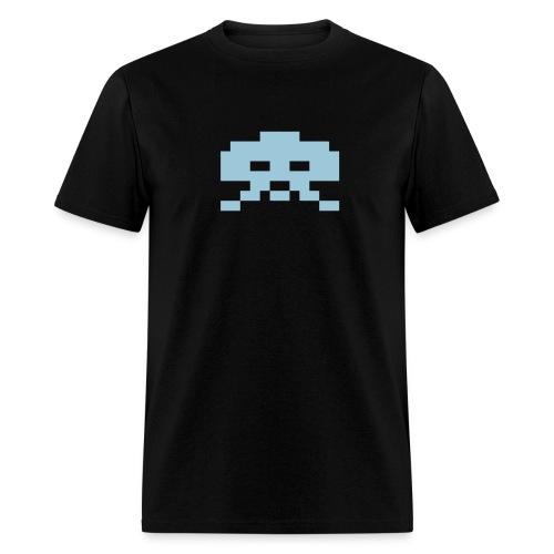 Invader Blue - Men's T-Shirt