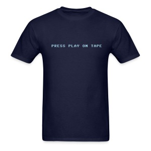 Press Play on Tape - Men's T-Shirt
