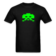 T-Shirts ~ Men's T-Shirt ~ Invader Green
