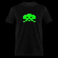 T-Shirts ~ Men's T-Shirt ~ Invader Green