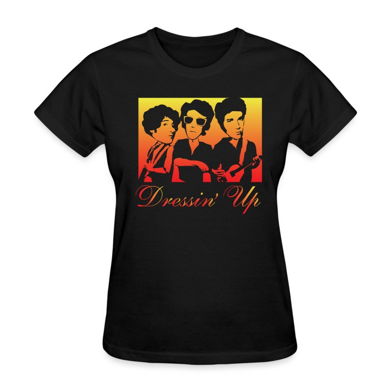 Dressin Up (Black) - Women's T-Shirt