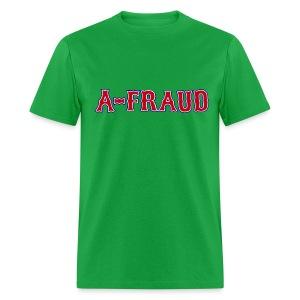 A-Fraud Sox Style Men's Standard Weight T-Shirt - Men's T-Shirt