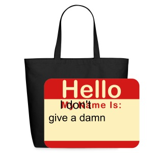 hello my name is fred - Eco-Friendly Cotton Tote