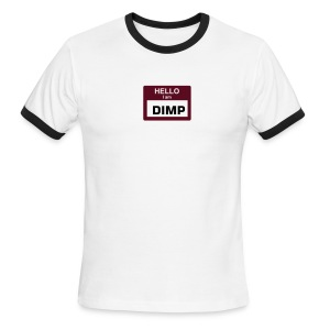 Hello my name is...DIMP - Men's Ringer T-Shirt