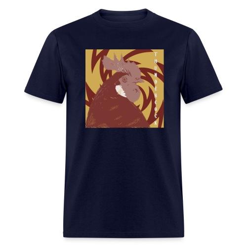 thundercock - large graphic - Men's T-Shirt