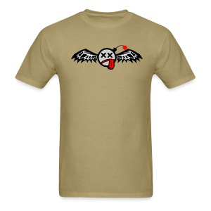 Winged Bomb - Men's T-Shirt
