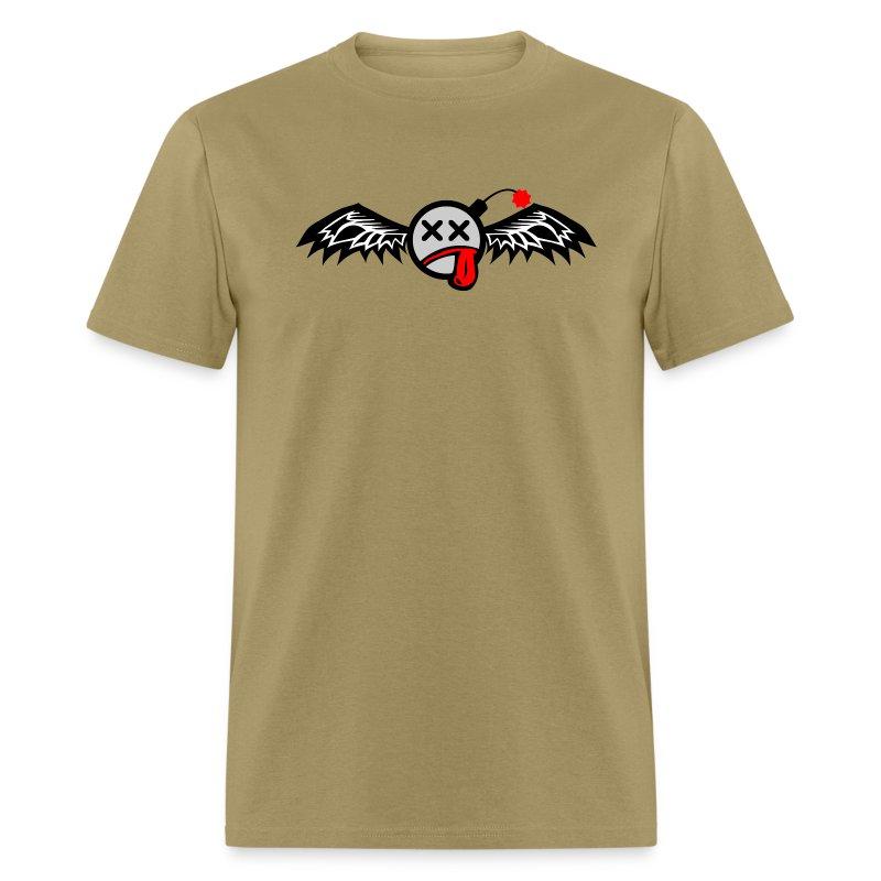 Winged Bomb - Men's T-Shirt