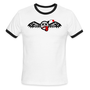 Winged Bomb - Men's Ringer T-Shirt