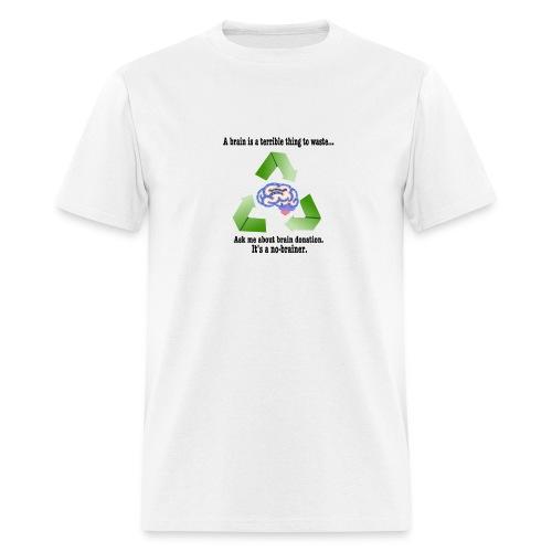 Men's Brain Donation T-Shirt - Men's T-Shirt