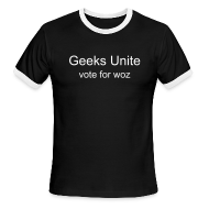 T-Shirts ~ Men's Ringer T-Shirt ~ Mens Geeks Unite T-Shirt