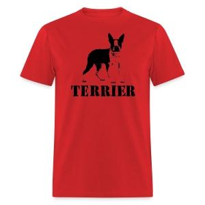Boston Terrier Beantown apparel shirt - Men's T-Shirt
