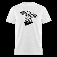 T-Shirts ~ Men's T-Shirt ~ Winged Headphones