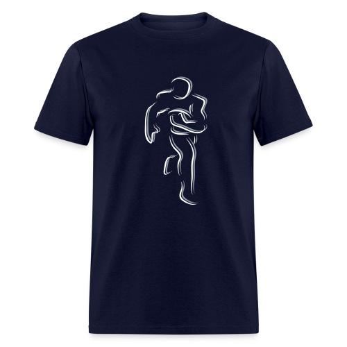 Ghost Football - Men's T-Shirt