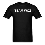 T-Shirts ~ Men's T-Shirt ~ Mens Short Sleeve TEAM WOZ T-Shirt