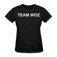 Women's T-Shirts ~ Women's T-Shirt ~ Ladies TEAM WOZ T-Shirt