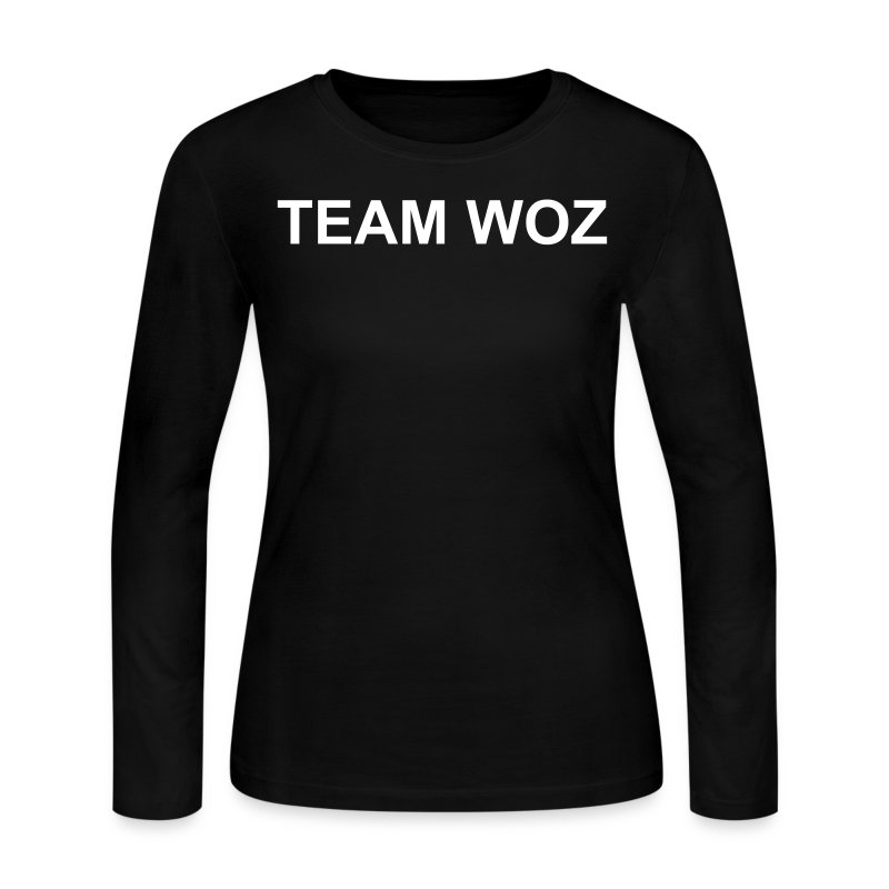 Ladies TEAM WOZ Long Sleeve T-Shirt - Women's Long Sleeve Jersey T-Shirt