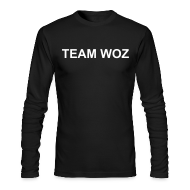 Long Sleeve Shirts ~ Men's Long Sleeve T-Shirt by Next Level ~ Mens TEAM WOZ Long Sleeve T-Shirt