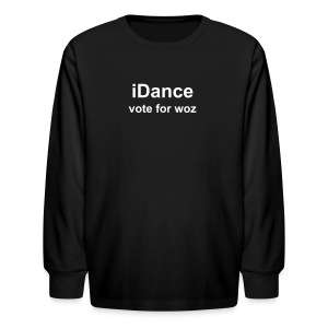 Kids iDance Long Sleeve T-Shirt - Kids' Long Sleeve T-Shirt