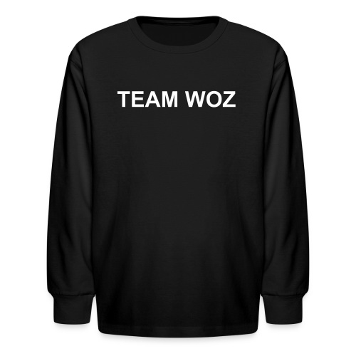 Kids TEAM WOZ Long Sleeve T-Shirt - Kids' Long Sleeve T-Shirt