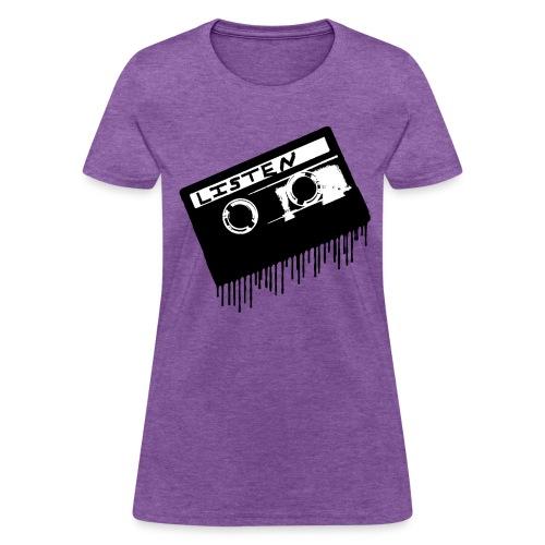 Melting Cassette Tape - Women's T-Shirt