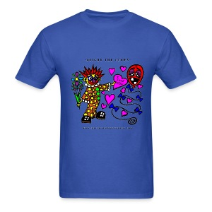 Blight the Clown Loves You! - Men's Shirt - Men's T-Shirt