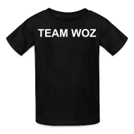 Kids' Shirts ~ Kids' T-Shirt ~ Kids Short Sleeve TEAM WOZ T-Shirt