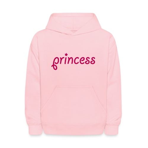 girls princess hooded sweatshirt - Kids' Hoodie