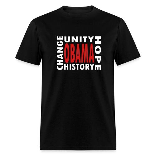 WUBT 'Obama 4 Words' Men's Standard T-Shirt, Black - Men's T-Shirt