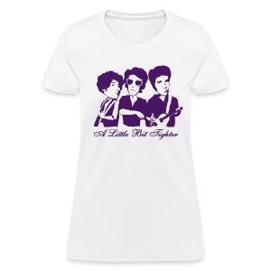 A Little Bit Tighter (White) - Women's T-Shirt