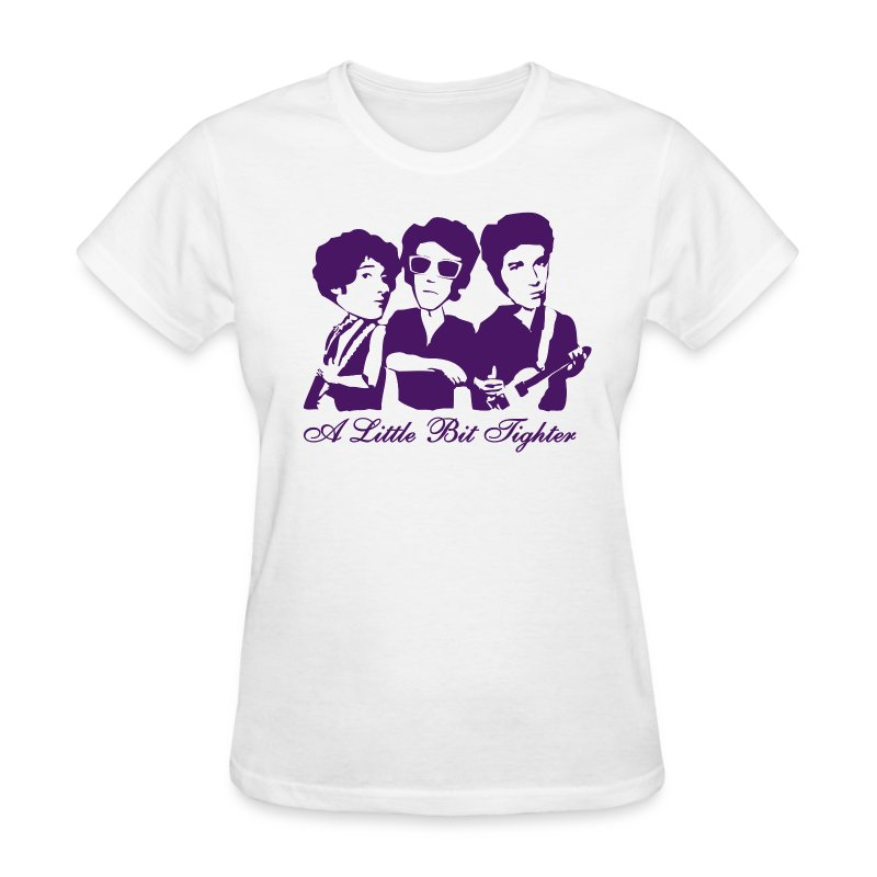 A Little Bit Tighter (White) - Women's T-Shirt
