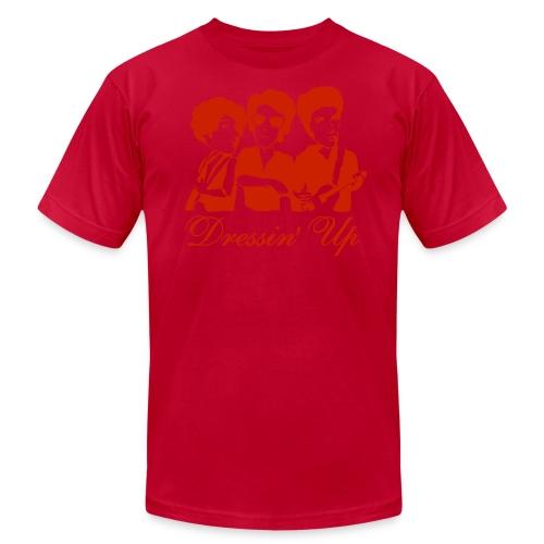 American Apparel Dressin' Up (Men's - Orange) - Men's Fine Jersey T-Shirt