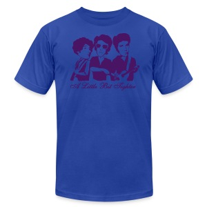 American Apparel A Little Bit Tighter (Men's - Blue) - Men's T-Shirt by American Apparel